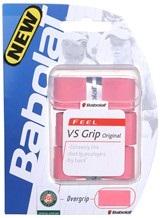 Balles de tennis accessoires -BABOLAT BABOLAT VS GRIP ORIGINAL ROSE