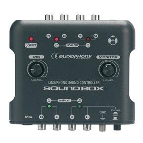 Cliquez pour visualiser le produit :CARTE SON SOUND-BOX AUDIOPHONY
