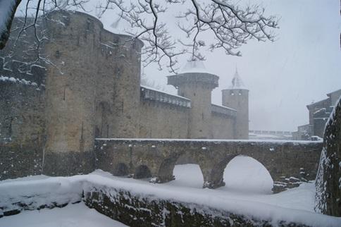 Chambres d 39 h tes decouvrez la cit sous la neige - Chambre d hotes carcassonne et environs ...