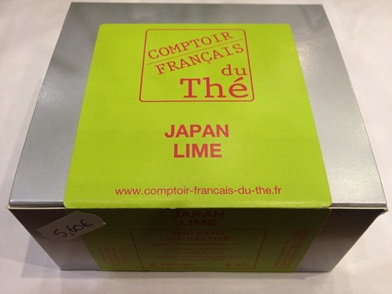 BOITE DE 20  Sachets de thé  Japan Lime -