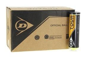 Balles de tennis accessoires -DUNLOP CARTON DUNLOP TOUR PERFORMANCE X4 18 TUBES