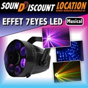 LOCATION EFFET A LED 7EYES