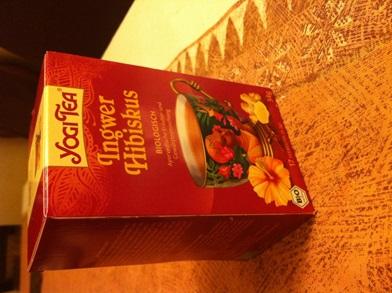 infusion hibiscus gingembre Yogi Tea