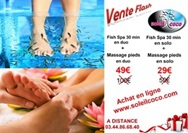 VENTE FLASH FISH SPA 30 MINUTES + MASSAGE PIEDS EN DUO