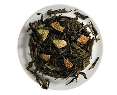 thé vert orange citron BIO