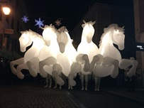 CHEVAUX LUMINEUX