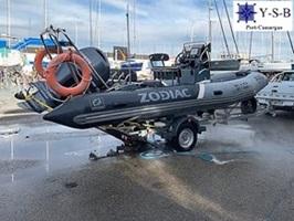 achat vente ZODIAC PRO RAID 650 par Y-S-B au Grau du Roi et Port-Camargue