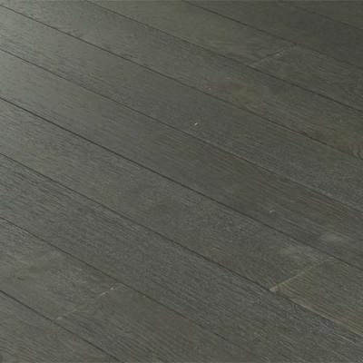 Autour du parquet : vente de PARQUET CONTRECOLLE CHENE BROSSE GRIS VERNI - 125 MM spécialiste de Contre collé Chene