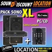 PACK SONO XL