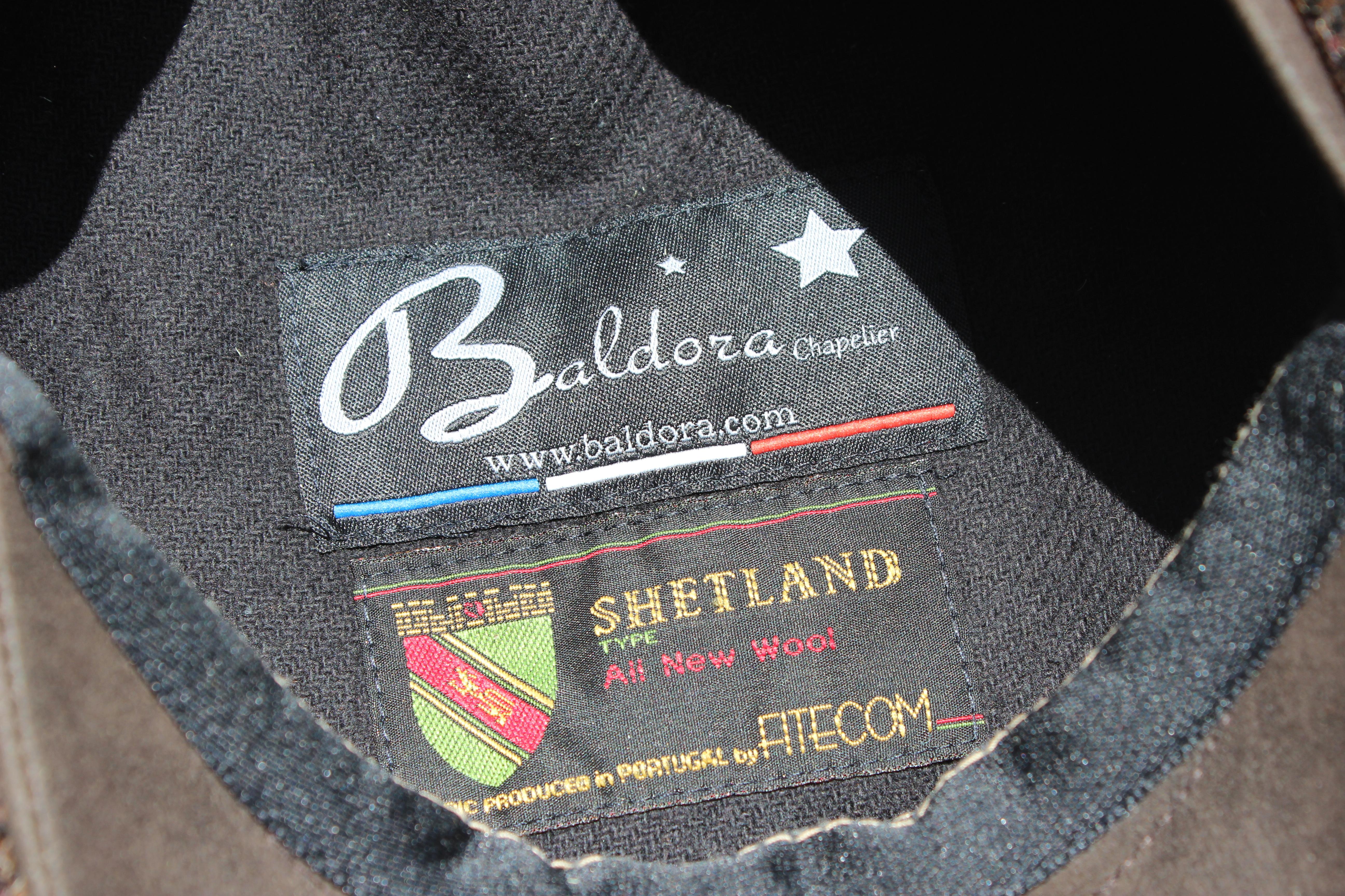 casquette laine Shetland - Ziggy Marron