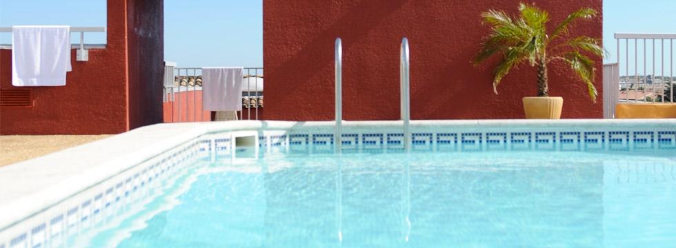 reserver hotel avec piscine Arles