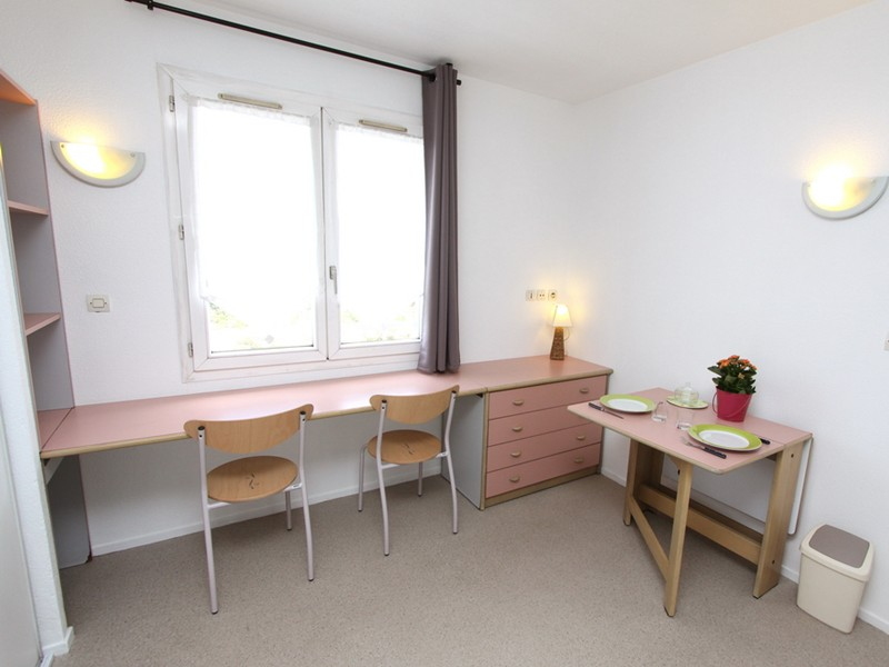 Studio 1 Person Straßenseite - bordeaux