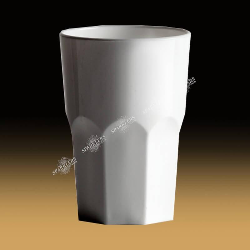 Verre incassable blanc Granity 350 ML