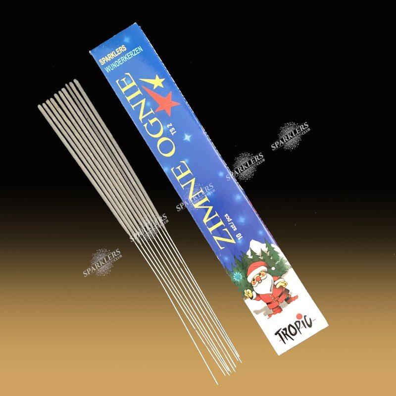 Cierges magiques pack de 10 (Moyen modèle )