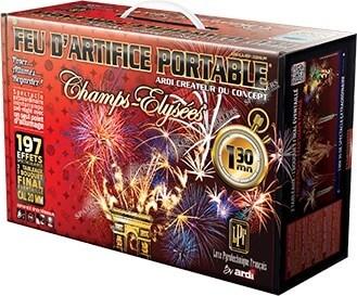 PORTABLE® LUXE PYROTHECNIQUE FRANCAIS - 1 MIN 30