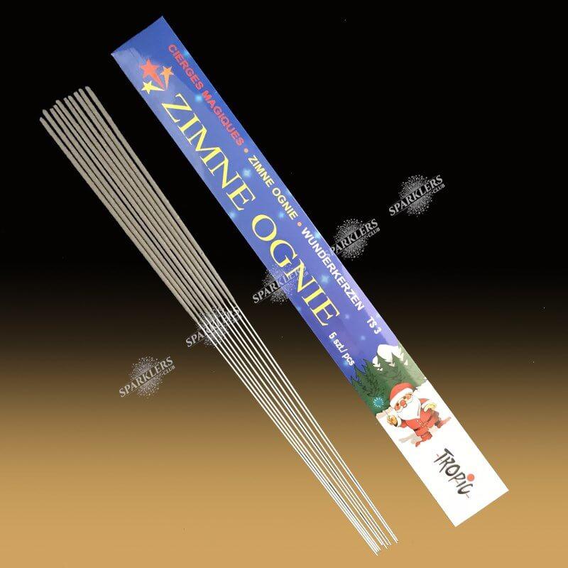 Cierges magiques pack de 10 (grand modèle )