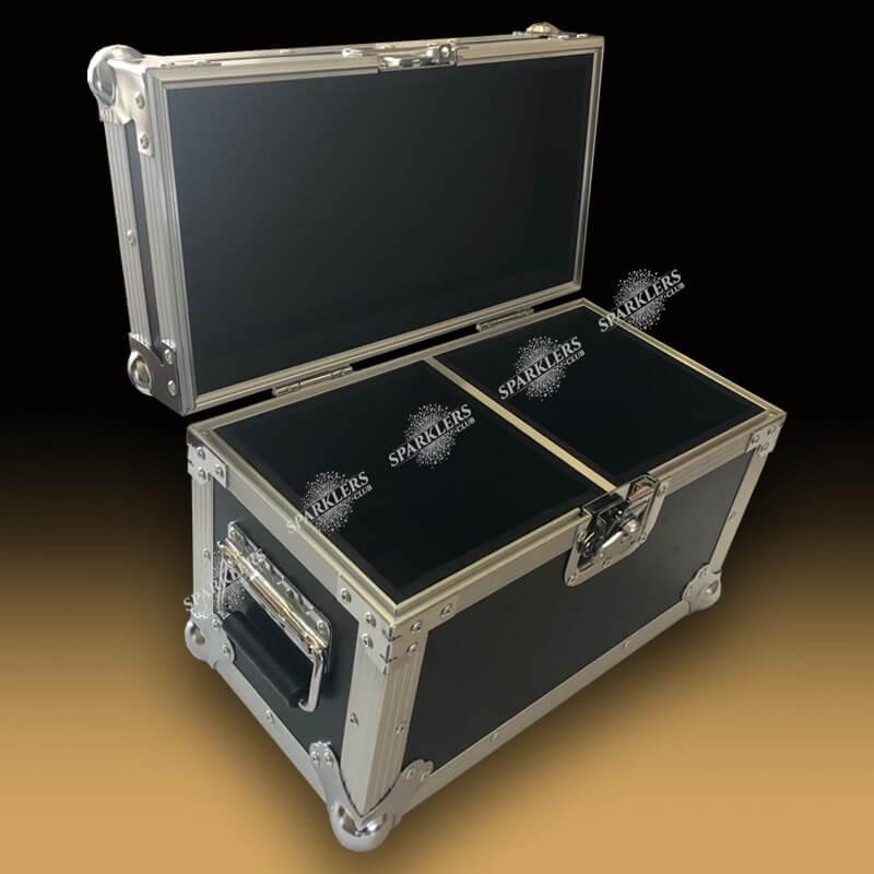Flight case pour 2 sparkular