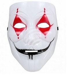 Masque Coque Arlequin Dhorreur Masques Halloween Sur Sparklers Club