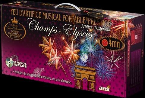 PORTABLE® 4 MN MUSICAL PRESTIGE CHAMPS-ÉLYSÉES® - 4min