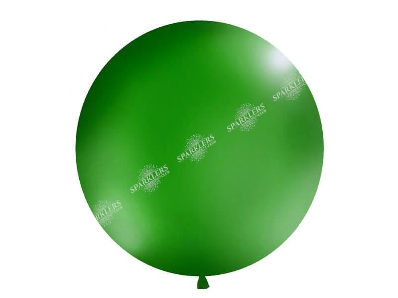 Ballon géant 100cm Vert Foncé