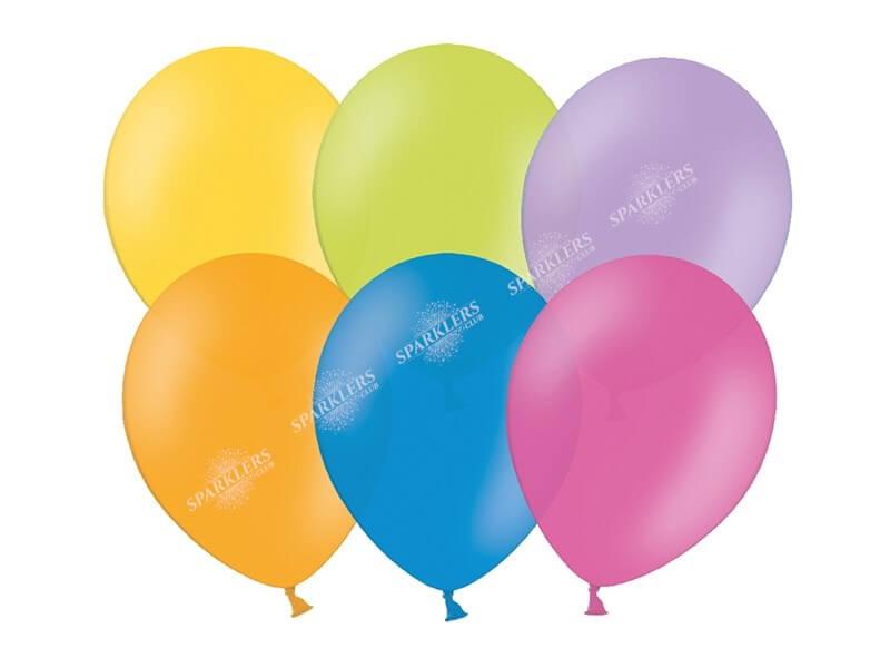 Lot de 100 Ballons couleurs mixtes multicolore