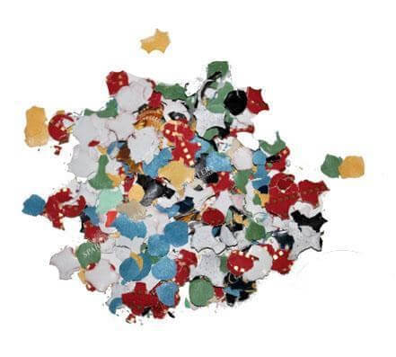 Confettis multicolor sac de 10KGr best price