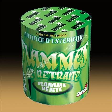 FLAMME DE RETRAITE VERTE - Durée 2mn