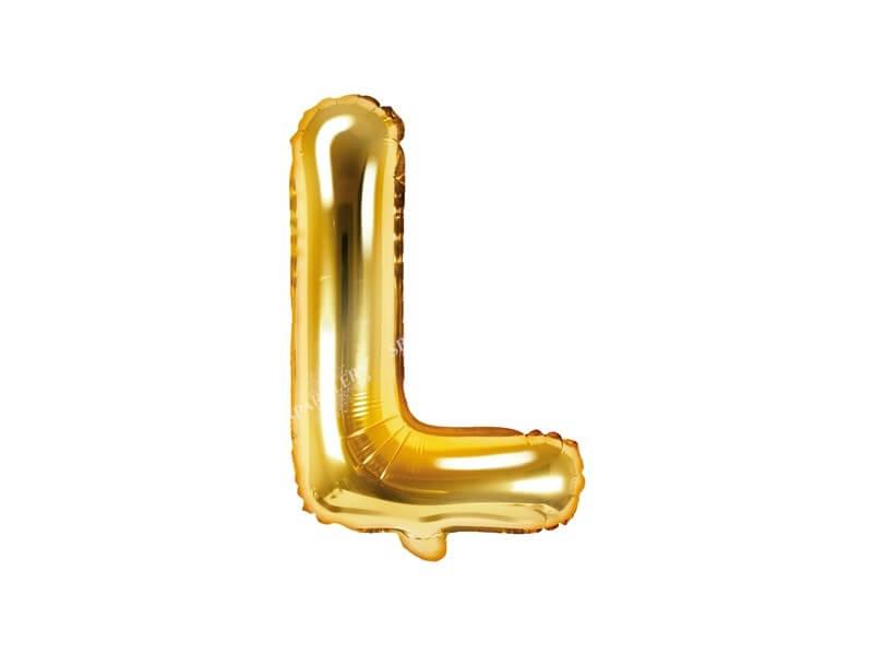 Ballon Lettre L Or