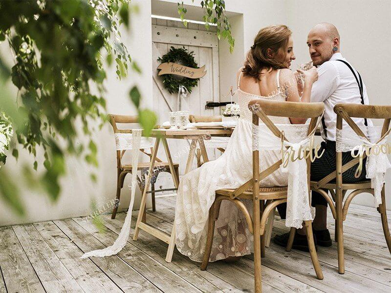 Deco Chaise Mariage Bride Groom