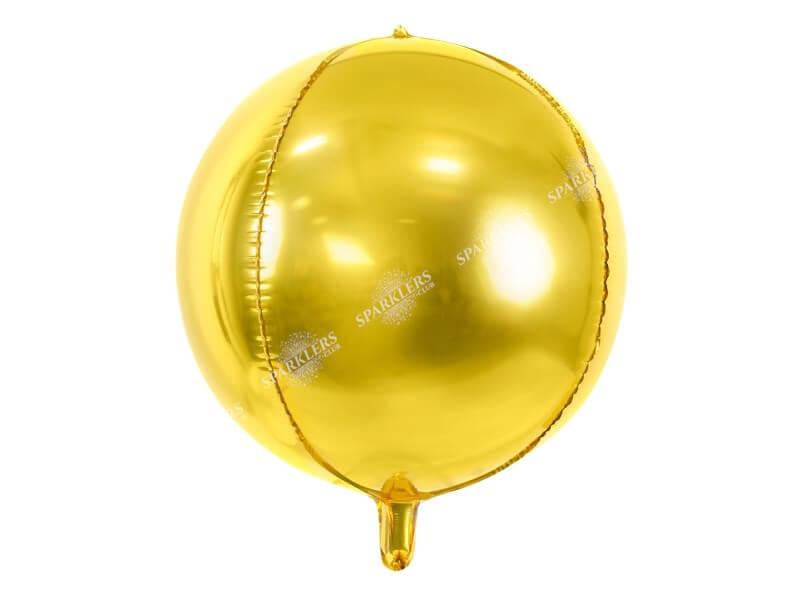 Ballon rond Or métallique 40cm