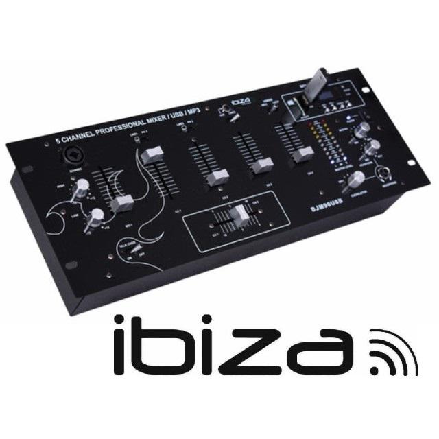 Table mixage djm90usb bt bluetooth ibiza sound table de mixage dj ibiza sound pas cher sound - Table de mixage usb pas cher ...
