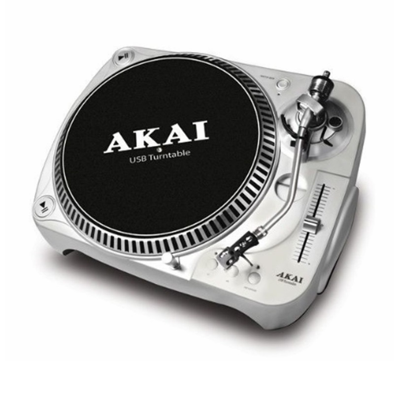 platine vinyle att022u akai platine et controleur mp3 autres marques pas cher sound discount. Black Bedroom Furniture Sets. Home Design Ideas