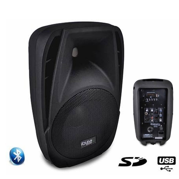 ibiza sound bt8a enceinte amplifi e 150w enceinte active ibiza sound pas cher sound discount. Black Bedroom Furniture Sets. Home Design Ideas