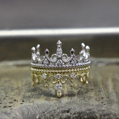 bagues de fiançailles Paris : Corona, F-G.VS