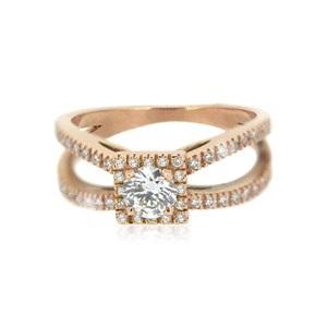 achat bague de fiançailles à Paris : Betty, 0.45ct