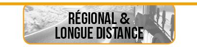 Onglet regional longue distance