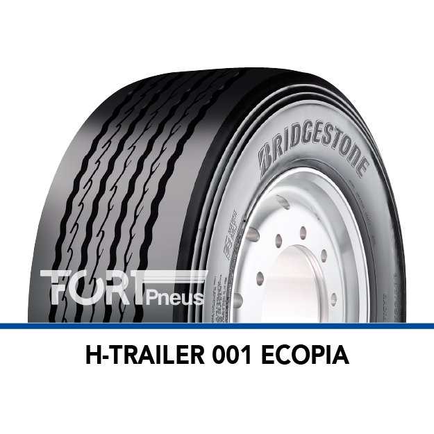 Pneu poids lourd Bridgestone H TRAILER 001 ECOPIA