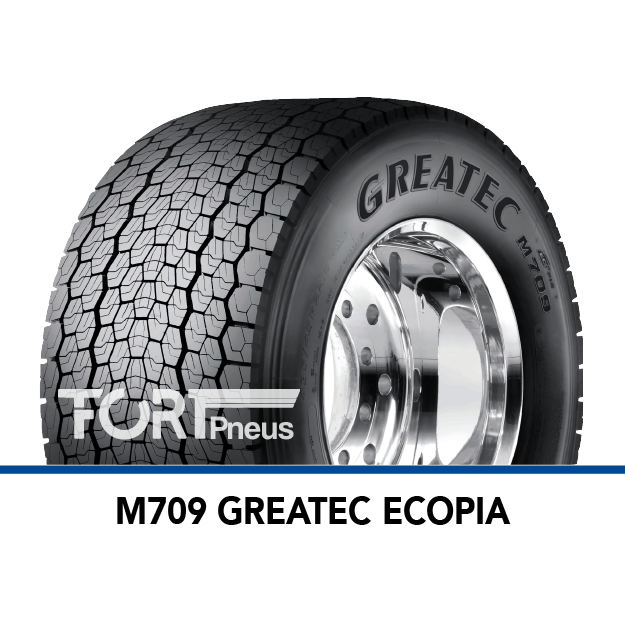 Pneu poids lourd Bridgestone M709 GREATEC ECOPIA