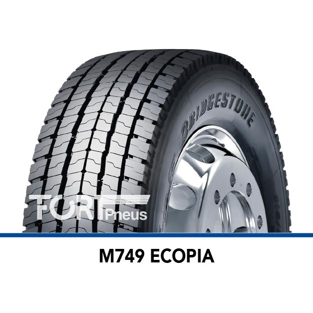 Pneu poids lourd Bridgestone M749 ECOPIA