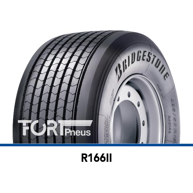 Pneu poids lourd Bridgestone R166II