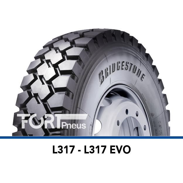 Pneu poids lourd Bridgestone L317EVO