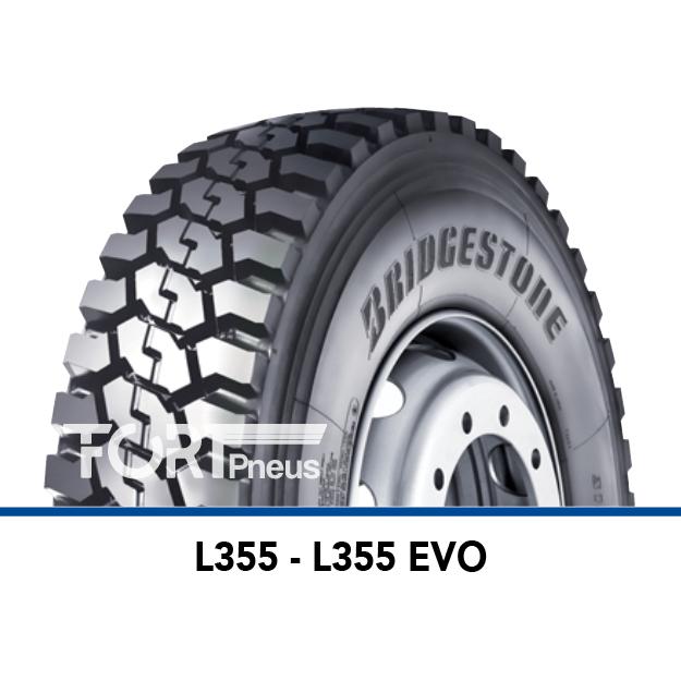 Pneu poids lourd Bridgestone L 355 EVO