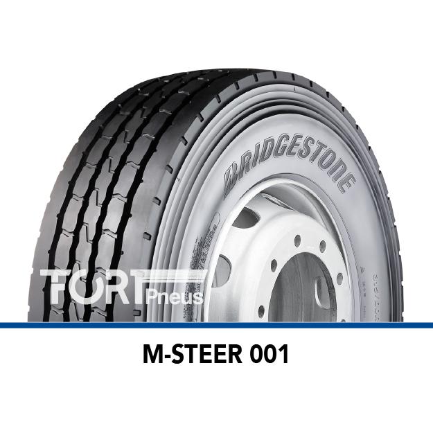 Pneu poids lourd Bridgestone M STEER 001