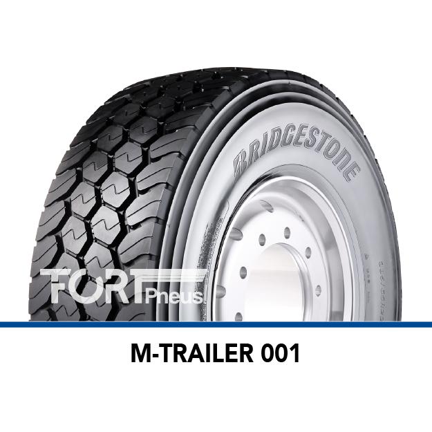Pneu poids lourd Bridgestone Profil M TRAILER 001