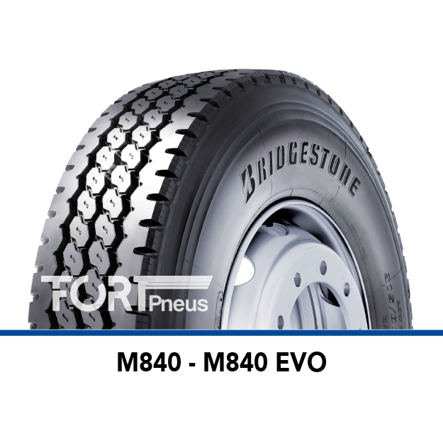 Pneu poids lourd Bridgestone M840EVO