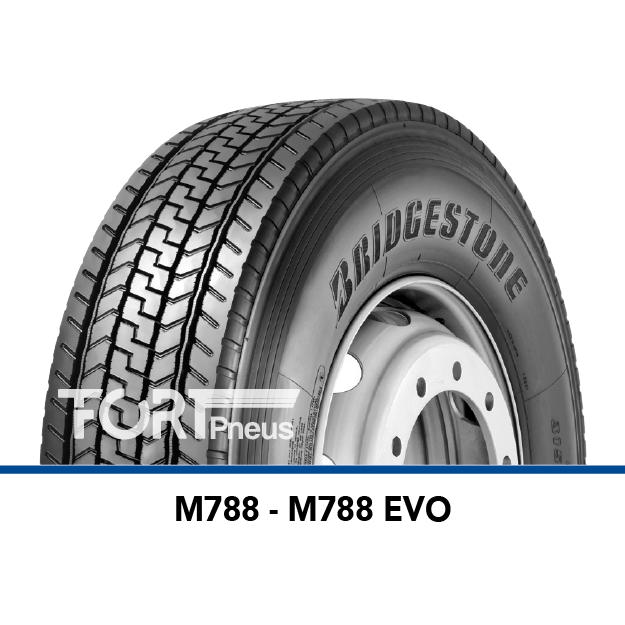 Pneu poids lourd Bridgestone M788EVO