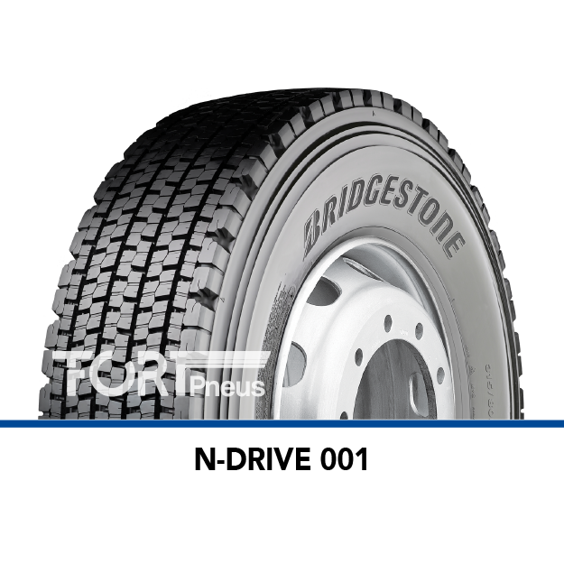 Pneu poids lourd Bridgestone N DRIVE 001