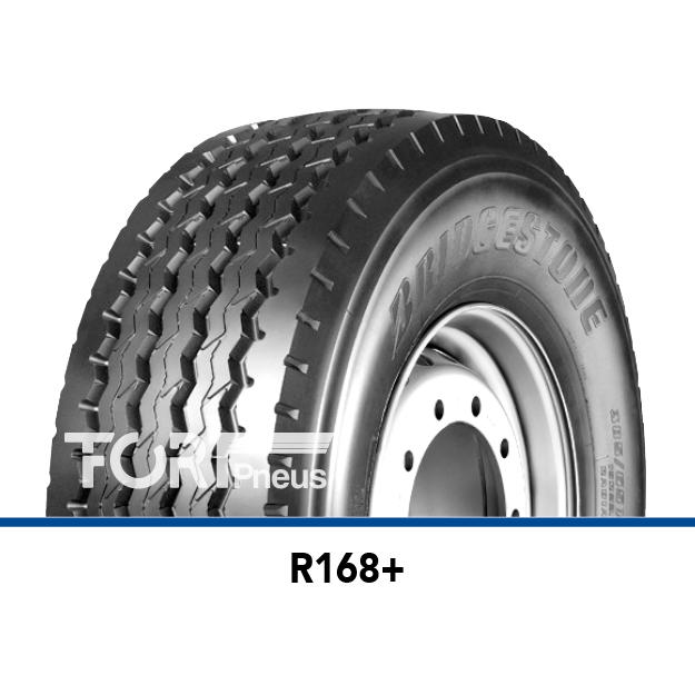 Pneu poids lourd Bridgestone R168plus