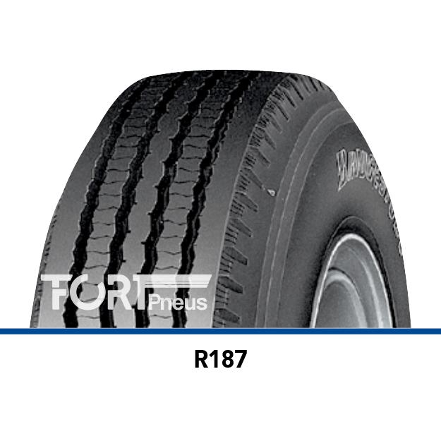 Pneu poids lourd Bridgestone R187