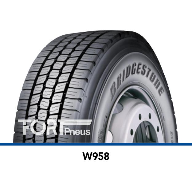 Pneu poids lourd Bridgestone W958